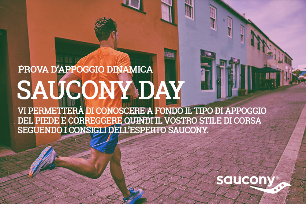 SAUCONY DAY | Sport85 Store Latina - Roma